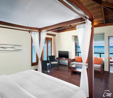 Sheraton Maldives Full Moon Resort and Spa Water Villa with Pool
