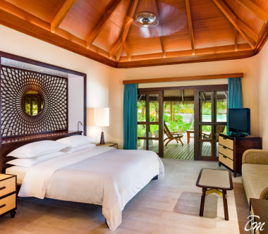 Sheraton Maldives Full Moon Resort and Spa Beach Front Cottage