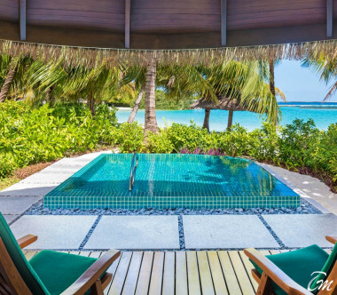 Sheraton Maldives Full Moon Resort and Spa Cottage with Pool