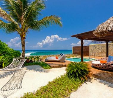 Sheraton Maldives Full Moon Resort and Spa Ocean Pool Villa