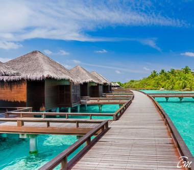 Sheraton Maldives Full Moon Resort and Spa Water Bungalow