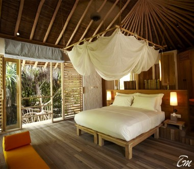 Six Senses Laamu Maldives Lagoon Beach Villa Interior