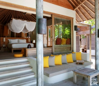 Six Senses Laamu Maldives Lagoon Beach Villa
