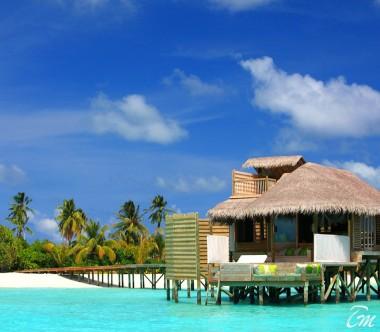 Six Senses Laamu Maldives Lagoon Water Villa Exterior
