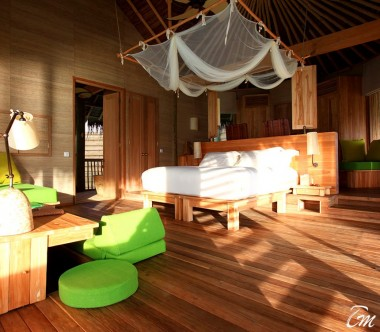 Six Senses Laamu Maldives Lagoon Water Villa Interior