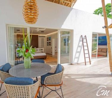 Superior Beach Villa with Pool  Sitting Area- Emerald Resort Maldives