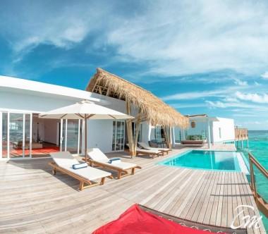 Superior Water Villa with Pool - Emerald Maldives Resort