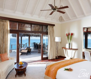 Taj Exotica Resort and Spa, Maldives Two Bedroom Rehendi Presidential Overwater Suite with Pool Master Bedroom