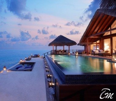 Taj Exotica Resort and Spa Two Bedroom Rehendi Presidential Overwater Suite with Pool - Deck