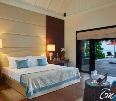 Taj Exotica Resort and Spa Deluxe Beach Villa with Pool Bedroom