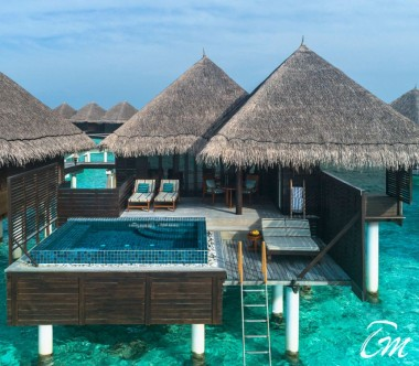 Taj Exotica Resort and Spa, Maldives Deluxe Lagoon Villa with Pool Exterior