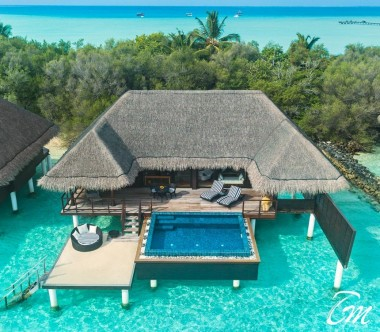 aj Exotica Resort and Spa One-Bedroom Ocean Suite with Pool Exterior