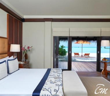 Taj Exotica Resort and Spa, Maldives Two Bedroom Beach Suite with Spa and Pool Bedroom