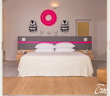 The Standard Huruvalhi Maldives 2 Bedroom Lagoon Beach Villa Bedroom