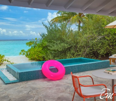 The Standard Huruvalhi Maldives 2 Bedroom Lagoon Beach Villa Pool