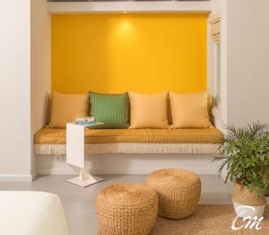 The Standard Huruvalhi Maldives 2 Bedroom Lagoon Beach Villa Sofa