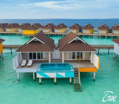 The Standard Huruvalhi Maldives 2 Bedroom Lagoon Over-water Villa Exterior
