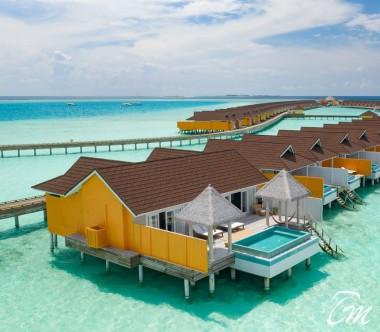 The Standard Huruvalhi Maldives Ocean Over-water Villa  Exterior