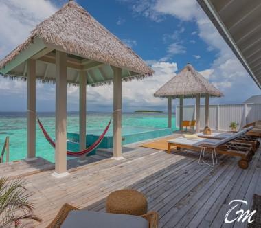 The Standard Huruvalhi Maldives - The Standard Residence Deck