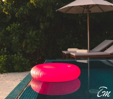 The Standard Huruvalhi Maldives Ocean Beach Villa Pool