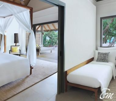 Luxury Beach Family Pool Villa Interior- Vakkaru Maldives
