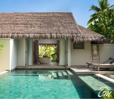 Beach Pool Retreat Pool - Vakkaru Maldives