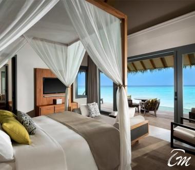 Luxury Over Water Family Pool Villa - Vakkaru Maldives
