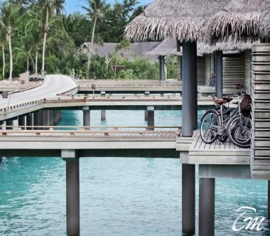 Luxury Over Water Villa Exterior - Vakkaru Maldives
