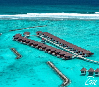 Varu by Atmosphere Maldives Water Villa Aerial View