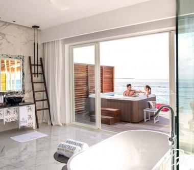 Jacuzzi Water Villa - Emerald Maldives Resort And Spa