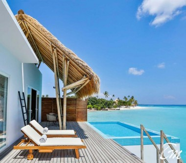 Water Villa with Pool Ocean View- Emerald Maldives