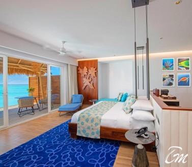 Wate Villa Inner View - Emerald Maldives Resort And Spa