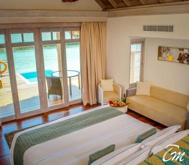 Amaya Kuda Rah Maldives Water Villa with pool