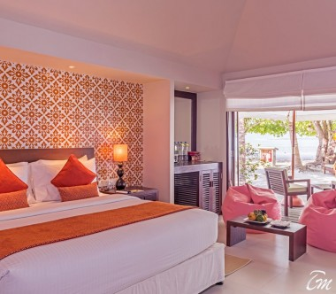 Adaaran Select Hudhuranfushi Deluxe Beach Villa Interior