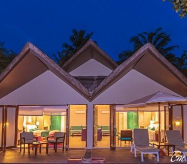 Adaaran Select Hudhuranfushi Family Beach Villa Exterior