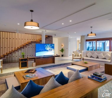 Amilla Fushi Resort and Residences Maldives Beach Residence 4 Bedroom Interior