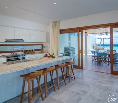 Amilla Fushi Resort and Residences Maldives Beach Residence 4 Bedroom Kitchen