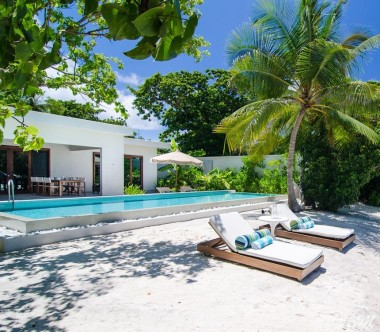 Amilla Fushi Resort and Residences Maldives Beach Pool Villa Exterior