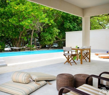 Amilla Fushi Resort and Residences Maldives Beach Pool Villa