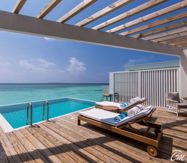 Amilla Fushi Resort and Residences Maldives Ocean Lagoon House Deck