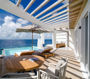 Amilla Fushi Resort and Residences Maldives Ocean Reef House Deck