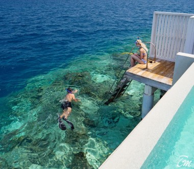 Amilla Fushi Resort and Residences Maldives Ocean Reef House Snorkeling