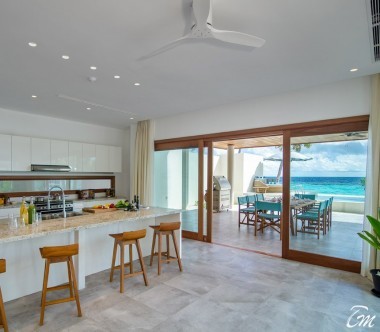 Amilla Fushi Resort and Residences Maldives The Great Beach Residence 8 Bedrooms Kitchen