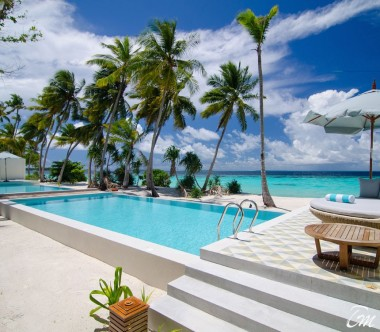 Amilla Fushi Resort and Residences Maldives The Great Beach Residence 8 Bedrooms Pool