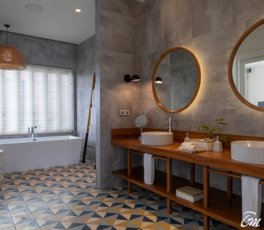 Amilla Fushi Resort and Residences Maldives Sunset Water Pool Villa Bathroom