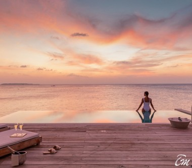Amilla Fushi Resort and Residences Maldives Sunset Water Pool Villa