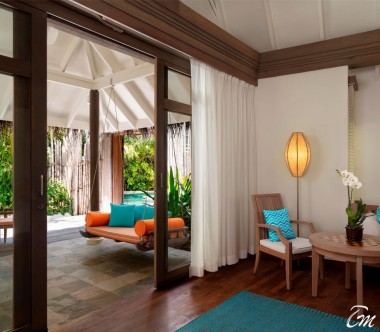 Anantara Dhigu Maldives Resort Two Bedroom Anantara Pool Villa Interior