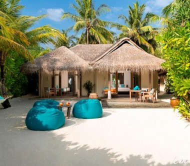 Anantara Dhigu Maldives Resort Two Bedroom Family Villa Exterior