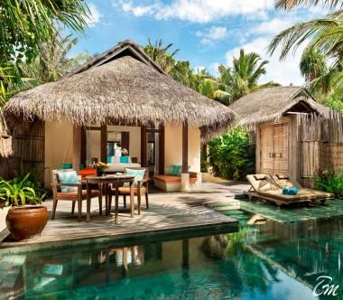 Anantara Dhigu Maldives Resort Anantara Pool Villa Exterior