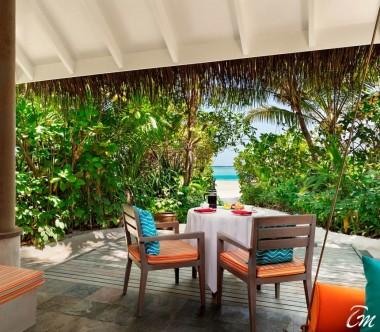 Anantara Dhigu Maldives Resort Sunrise Beach Villa Ocean View